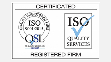 ISO 9001 : 2015 Accreditation