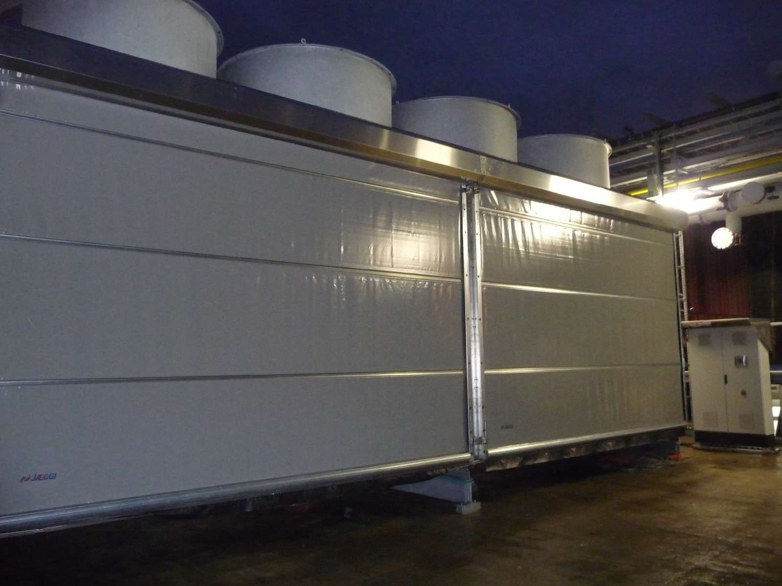 weather protection on a cooling system